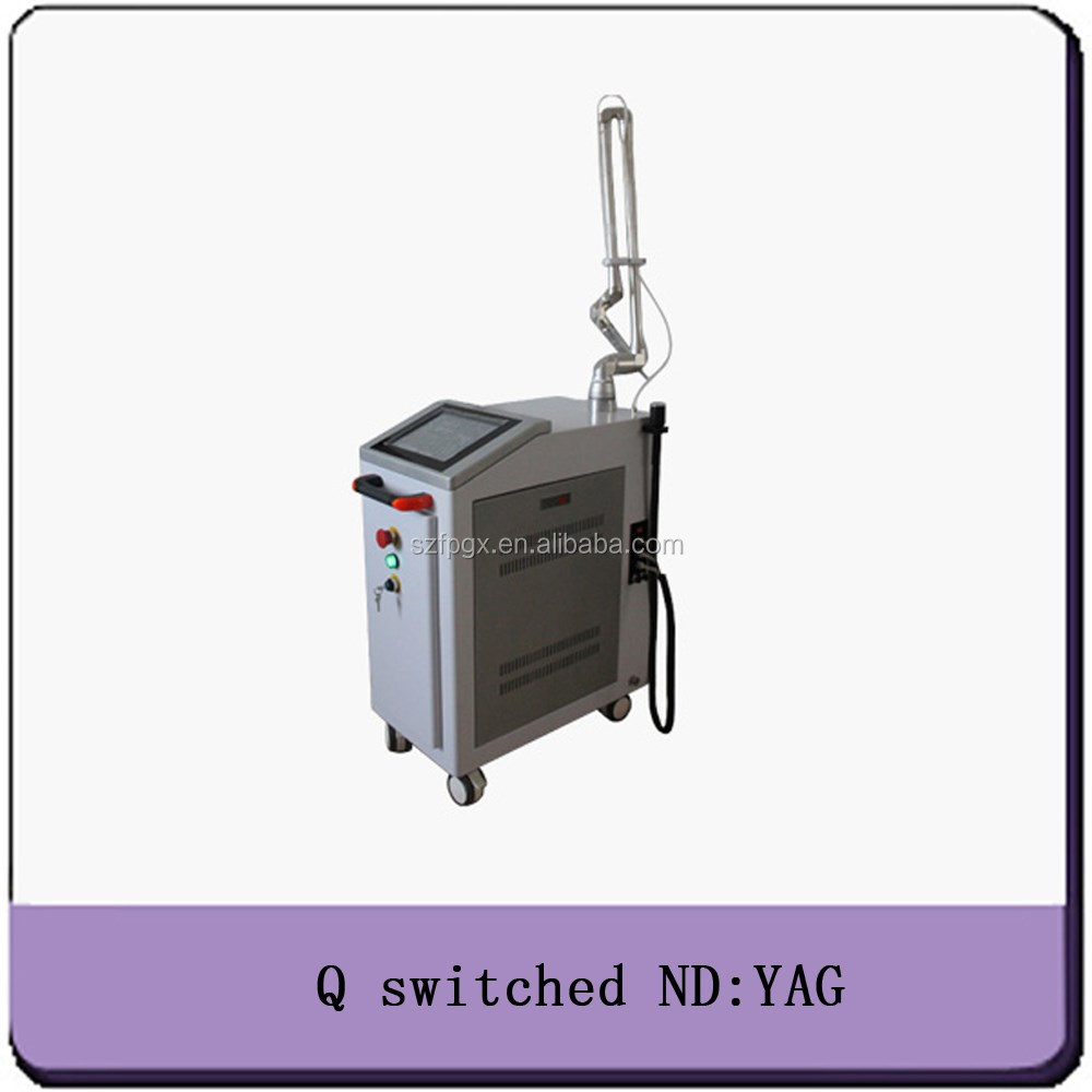 Q Switch ND Yag Laser Tattoo Pigment Removal Beauty medical/manufacturer