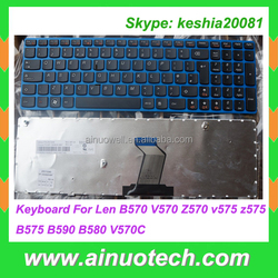 US Laptop keyboards For Lenovo G580 Z580A G585 Z585 B580 V580 G780 G770 G590