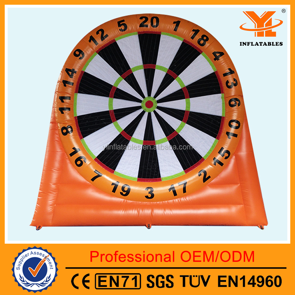 Unique Inflatable Soccer Darts, Football Dart Games for Club