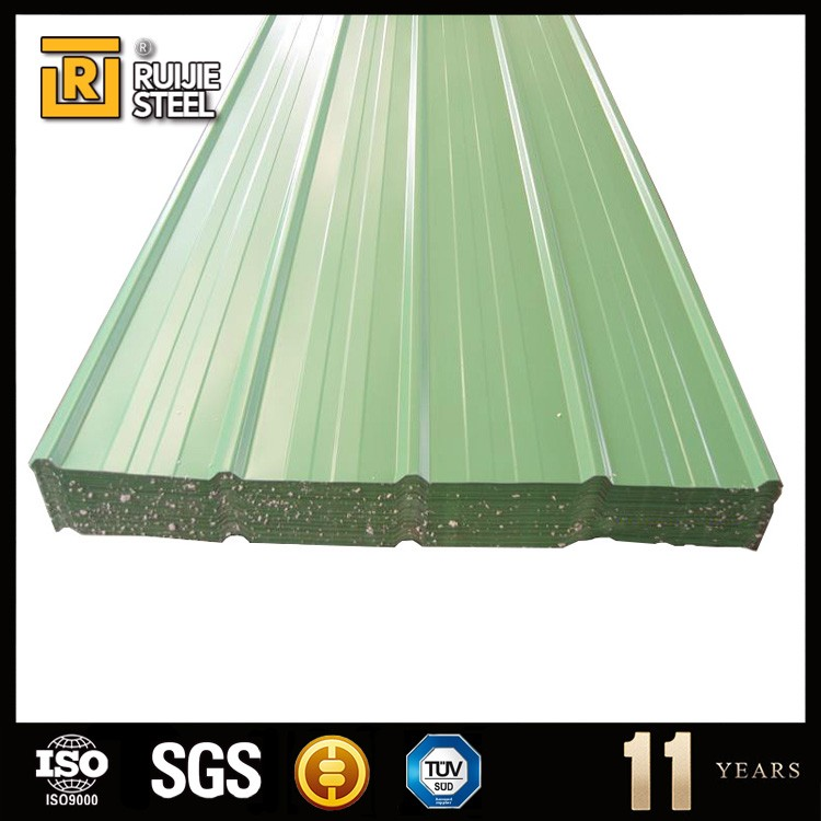 colorful coated metal roofing tile / corrugated roofing sheet / construction material