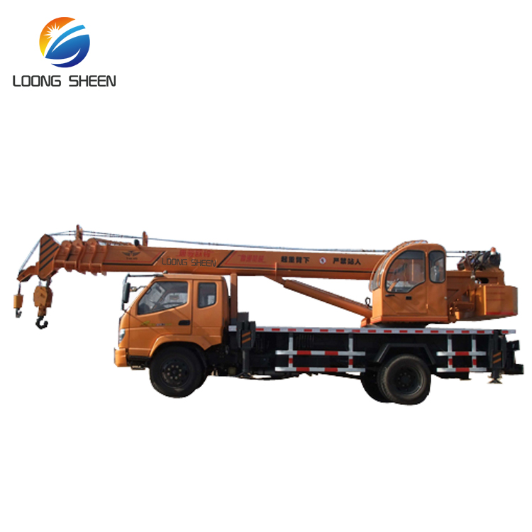 Different Types of Truck Crane with Best Truck Mounted Crane Price