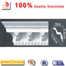 High quality polyurethane moulding HD-C00499 crown moulding installation