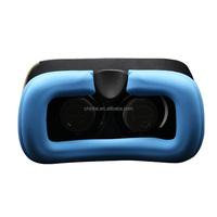 2016 New Design Silicone Cover for VR Glasses Non-toxic Eco-friendly Virtual Reality VR 3D Glass Silicone VR Case Protector