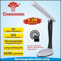 portable police touch switch desk led lamp