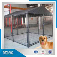 House-Type Square Tube Dog Cage