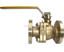 Marine Bronze High Pressure Water Flange Ball Valve