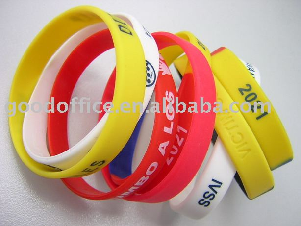 Active demand factory manufacture 100% non-toxic promotional gift silicone band