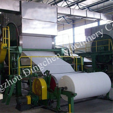 large capacity per day double cylinder toilet paper making machine