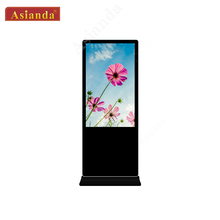 49'' Indoor Touch Screen Digital Signage Ads Display LCD All In One PC with Wi-Fi