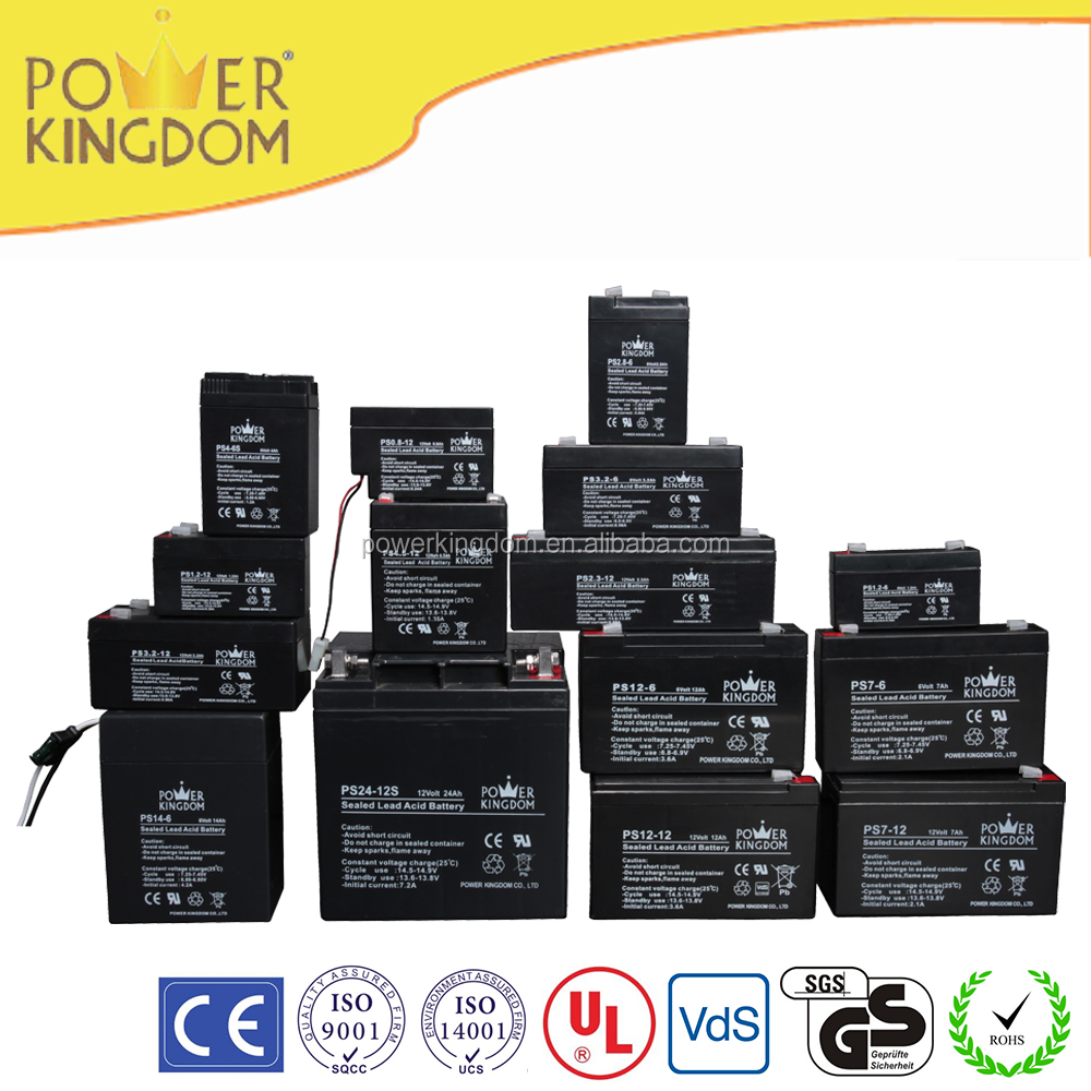 12v 7ah sealed lead acid battery baterias 12v 7ah with UL