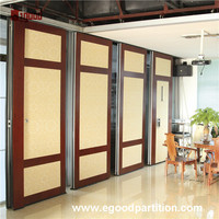 Commercial folding and sliding partition wall folding sliding partition