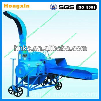 Auto-feeding motor operated chaff cutter machine