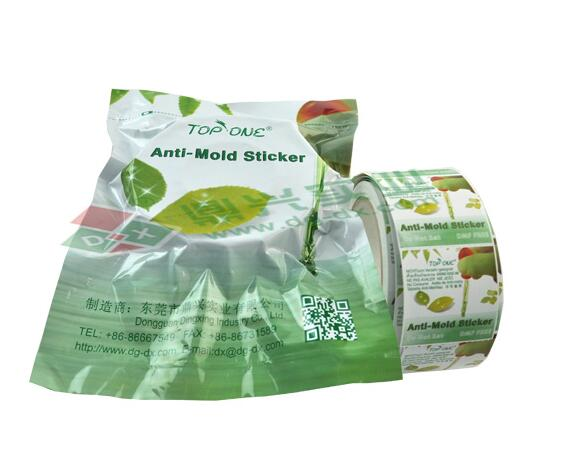 Top one anti mold sticker for footwear 1000 pcs