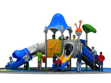 Cheap outdoor home used playground set small amusement park