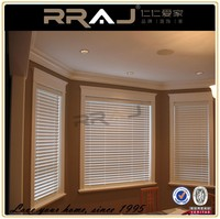 wooden rolling security rolling blind for window