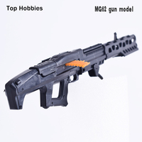1/6 Weapon Model Avatar Machine Gun 4D MG62 Assembling Plastic Model Rifle Toy for Action Figures Accessories Color Random