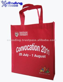 Custom promotional Non-woven tote bag Singapore