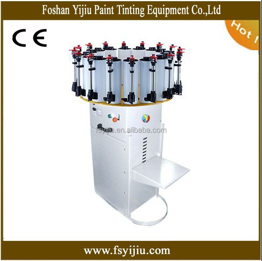 manual colorant dispenser paint match machine manufacturer