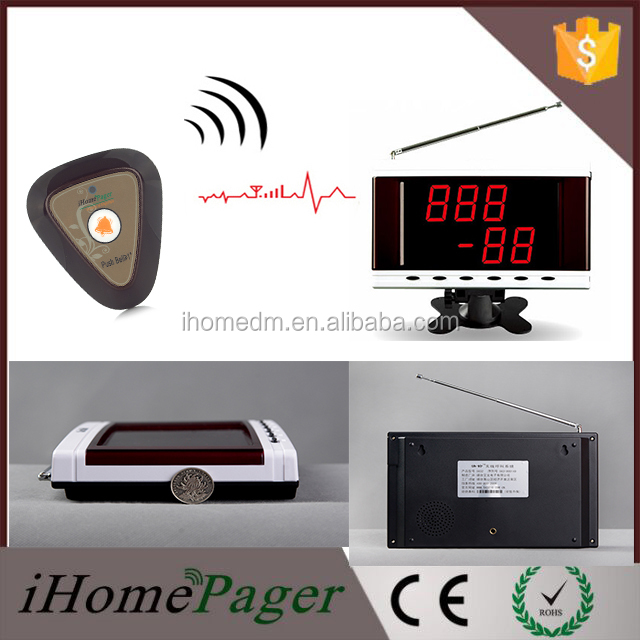 Customer Call Waiter Restaurant wireless long signal calling device