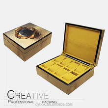 Newest Personalized Wholesale Wooden 8 Slots Watch Box