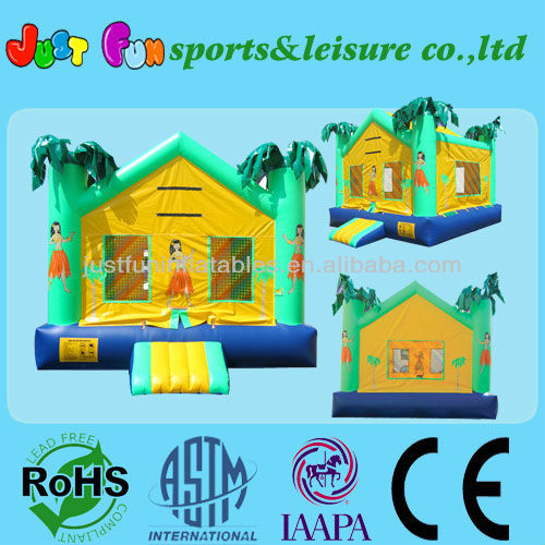 kids inflatable jungle bouncer hot sale in America