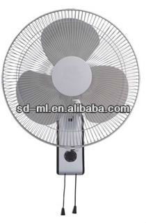 16'' wall mount oscillating quiet fan