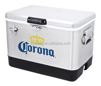 Corona Stainless Steel Ice Cooler with Bottle Opener