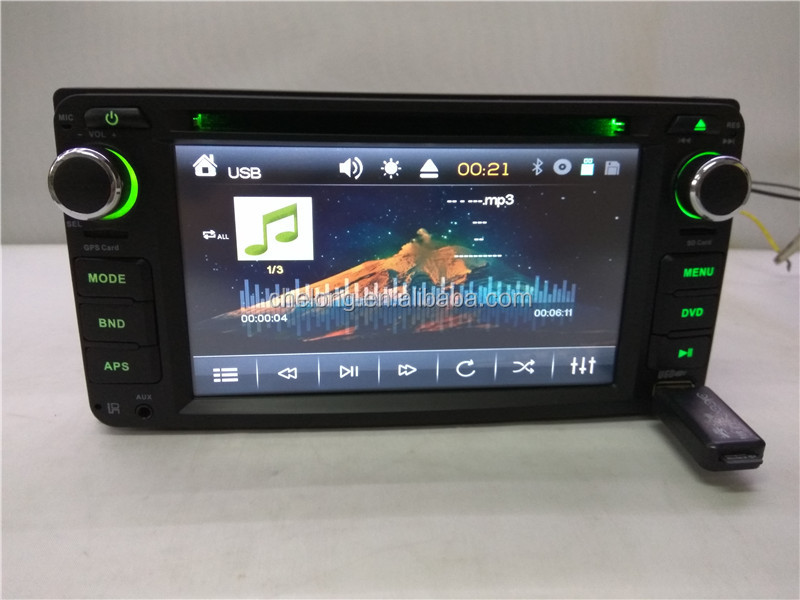 Double din Car stereo DVD CD Touch Screen support Bluetooth SD USB Radio FM 6.2 inch Car DVD Player Universal 6285DVD
