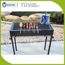 Top Rated Stainless Steel Rectangle Adjustable Height Japanese Bbq Grill Stand