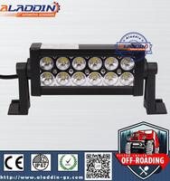 atv 36W 4x4 off road led light bar auto led 24 volt light bar