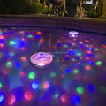 Nice design colorful floating bathtub lamp /Led pool light/bathtub pool lamp