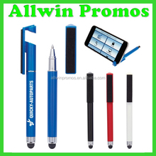 2016 New Arrival Stylus Pen With Phone Stand And Screen Cleaner