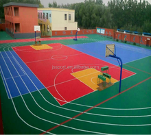 TKL3048-16 PP shock absorption suspended portable tennis court sports flooring