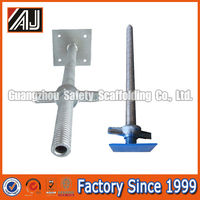 Steel Adjustable Scaffolding Base Screw Jack