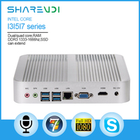 Intel core i5 HD 4400 sharevdi haswell Fanless Mini pc