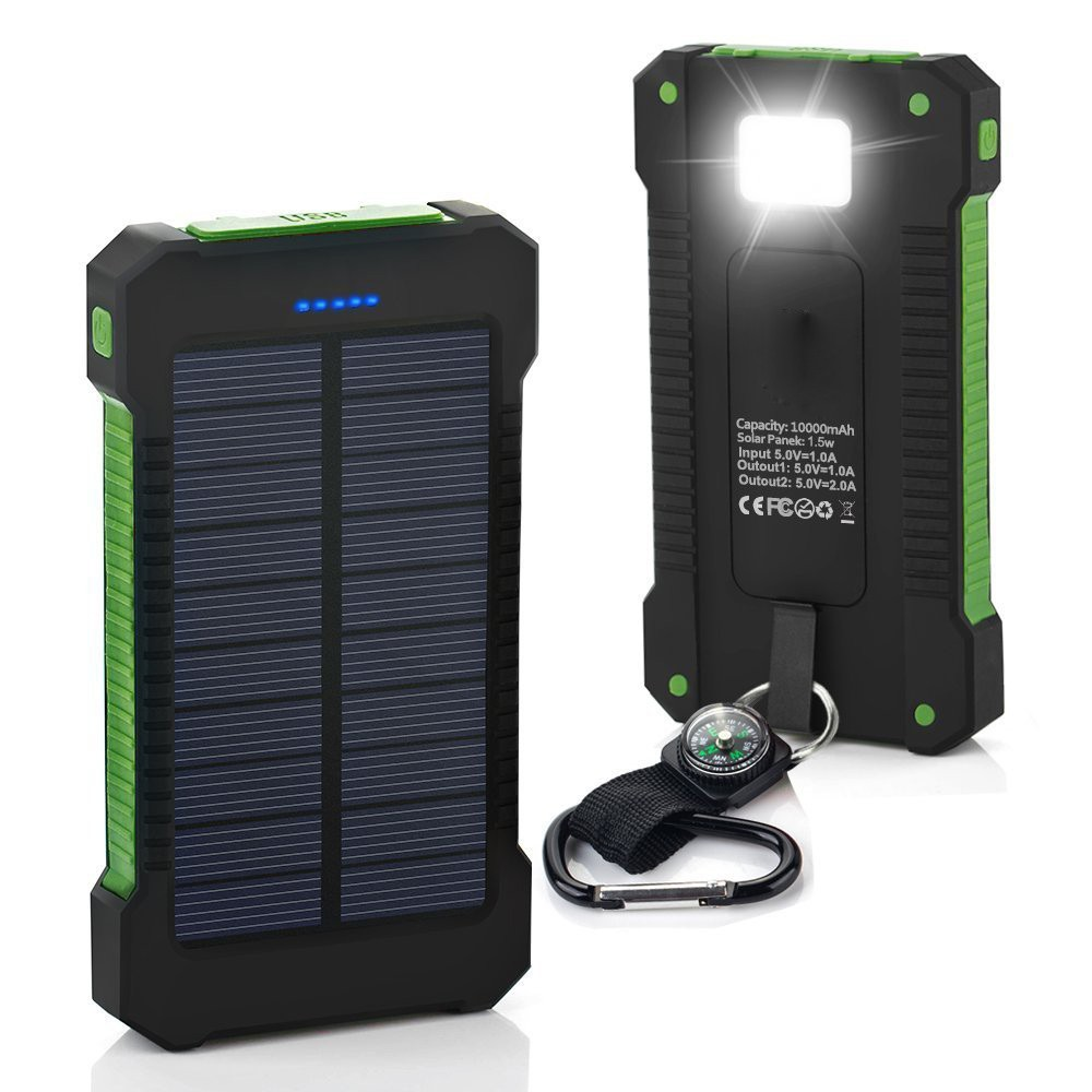 2017 dual USB powerbank portable solar power system for smart phones and outdoor supply charger