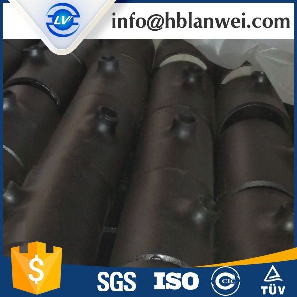 Trade Assurance Alloy pipe fitting seamless high pressure steel pipe tee A335 P5