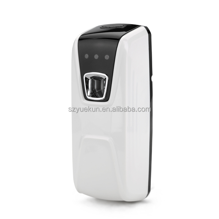 China wholesale air freshener dispenser automatic remote control aerosol dispenser refilled 300ml perfume dispenser