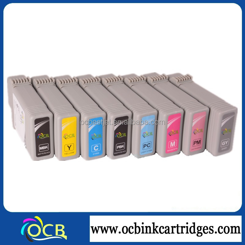 New Brand Cartridge For Canon Ipf 5100 6100 Compatible Ink Cartridges With Dye Or Pigment Ink