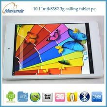 10.1 inch quad core 1G 16G 800*1280IPS 3G GSM GPS BT Wifi wholesale android high configuration tablet pc