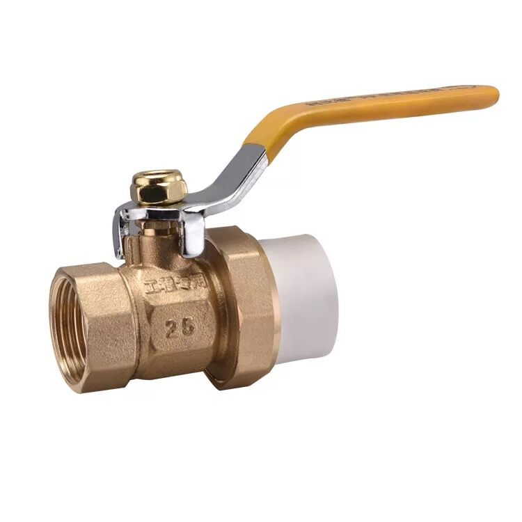 high quality cheapest price full flow Long level handle brass Ball valve