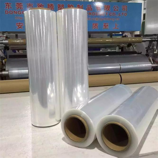 Cast Film Packaging Plastic Film Hand <strong>Roll</strong> 18 inch 80 gauge 1000 ft