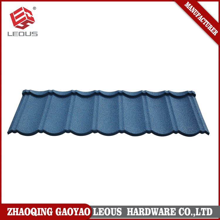 Best selling lowes metal roofing cost,colorful stone zinc roofing sheet,stone coated steel roofing tile