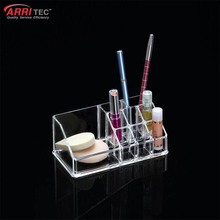 transparent acrylic cosmetic makeup material organizer for lipstick