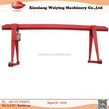 electric hoist travelling track girder gantry crane
