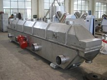 Line vibration fluidized bed drying machine