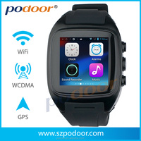 latest wrist watch tv mobile phone pw306II android smart watch wrist watch tv mobile phone