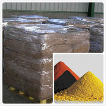 Different color fe2o3 ferric oxide pigment yellow dye iron oxide for color paint paste