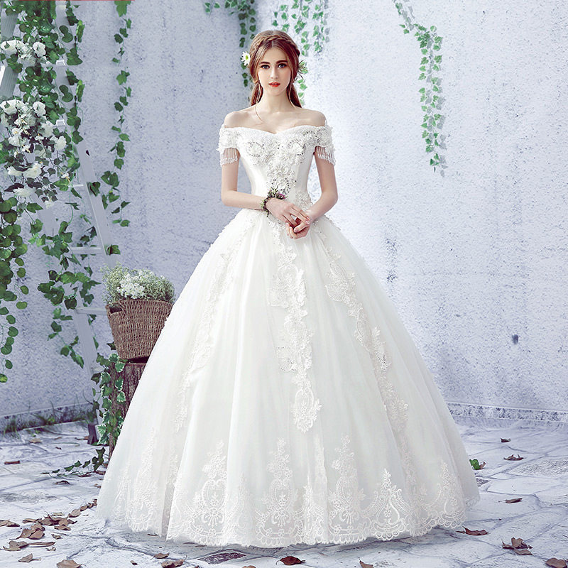 2017 new guangzhou casual wedding dress factory HB1011