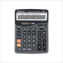 Hot Selling plastic big display Dual Power 12 digits Desktop calculator
